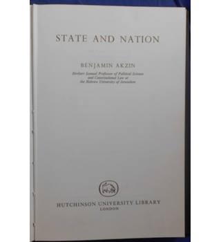 State and Nation