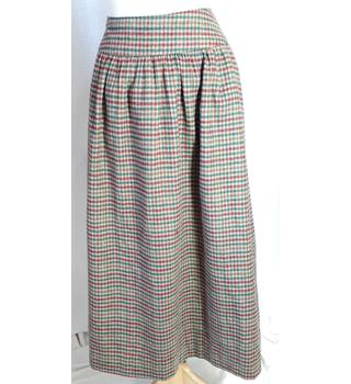 Unbranded - Size: 16 - Brown - Checked skirt