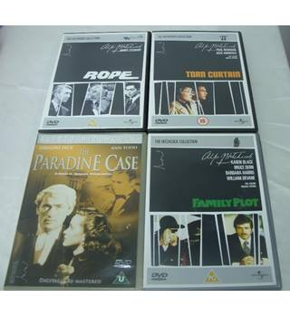 Alfred Hitchcock Collection - 7 DVD Set PG