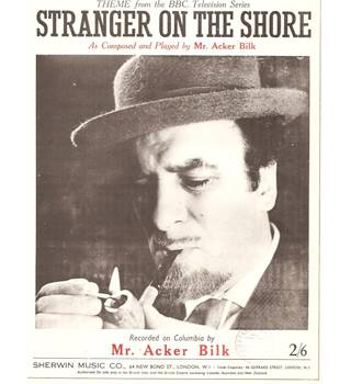 Stranger on the Shore Theme Acker Bilk sheet music