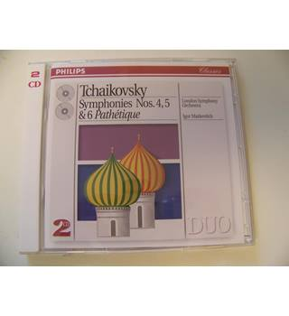 Tchaikovsky : Symphonies 4 ,5, 6 (Pathetique)