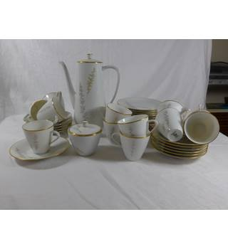"Hutchenreuter/Selb 12 piece coffee set ""Elegant"""