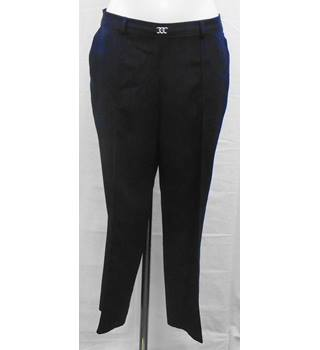 BNWOT M&S navy trousers Size 14S