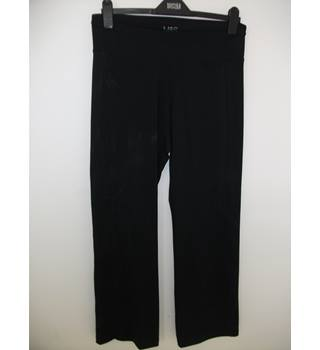 Marks & Spencer Black Fitness Trousers Size 12