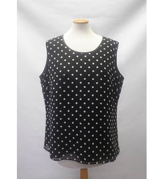 Eastex - Size: 16 - Black - Short sleeved shirt