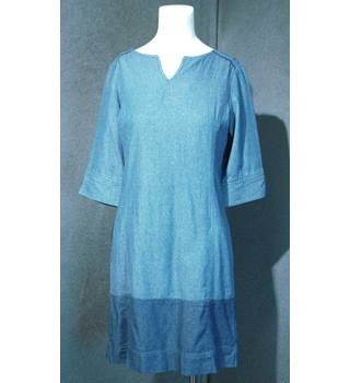 Joules Clothing - Size: 10 - Blue Tunic Dress