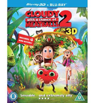 CLOUDY WITH A CHANCE OF MEATBALLS 2 - 3D - U