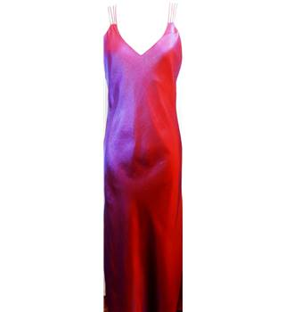 Attire - Size: 12 - Shot Red and Purple Dress