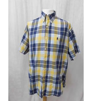 POLO by Ralph Lauren - Size: L - Multi coloured - Short sleeved