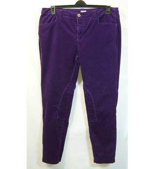 Joules - Size 16 - Purple courdory trousers