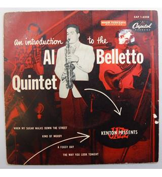 An Introduction To The Al Belletto Quintet Al Belletto - EAP.1 6508