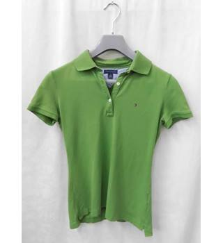 Tommy Hilfiger - Size: XS - Pear Green - Polo shirt