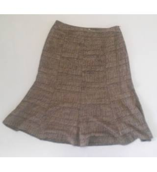 Bonmarche Collection size: 14 brown knee length skirt