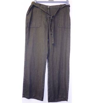 M&S Collection - Size: 16 - Green - Trousers