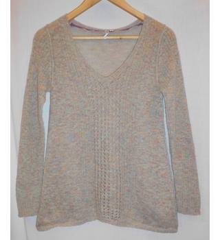 White Stuff - Size: 8 - Beige - Jumper