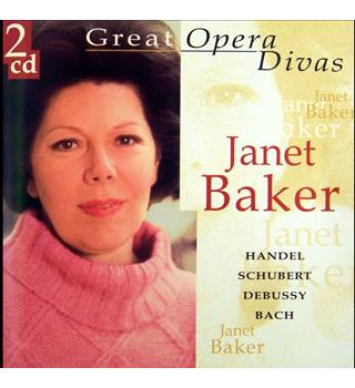 Legendary Contralto Janet Baker Performs Nineteen Different Composers 2 x CDs