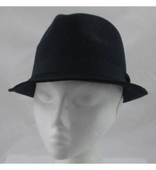 NWOT M&S Collection, size S navy wool trilby
