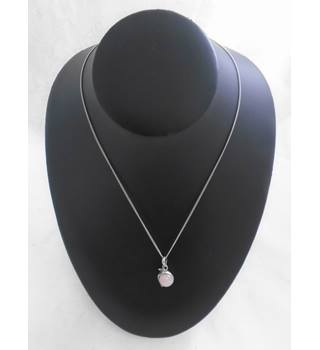 Pretty Pink Charm Necklace