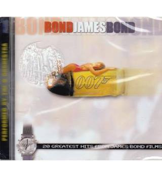 JAMES BOND 007 GREATEST HITS FROM JAMES BOND FILMS