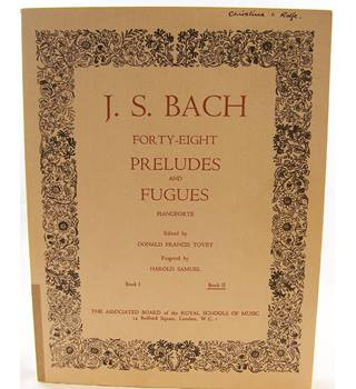Bach J. S. - Forty-Eight Preludes and Fugues. Book II.