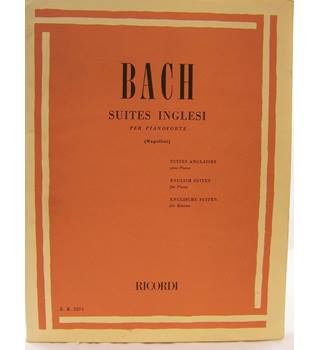 Bach J. S. - English Suites for Piano.