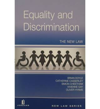 Equality and Discrimination - The New Law