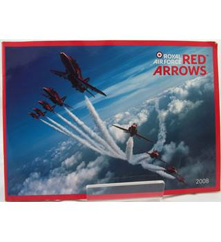 Royal Air Force Red Arrows 2008 Signed Brochure