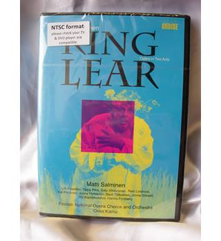 Matti Salminen - King Lear (Finnish National Opera Chorus and Orchestra 2015 DVD) NEW in shrink wrap