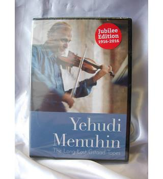 Yehudi Menuhin - The Long Lost Gstaad Tapes (2016 DVD) NEW in shrink wrap