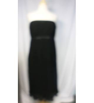 Jasper Conran - Size: 16 - Black - Strapless dress