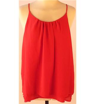 BNWT Esmara - size 12, red top