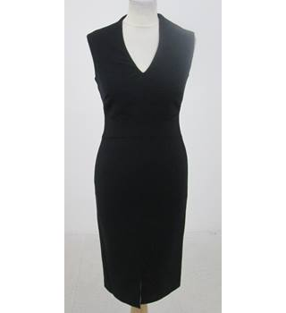 NWOT M&S Size:6 black back-zipped dress