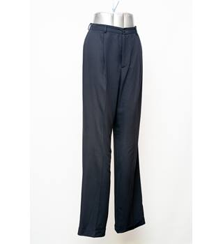 Ralph Lauren - Women's Trousers - Size 8 - Dark Blue
