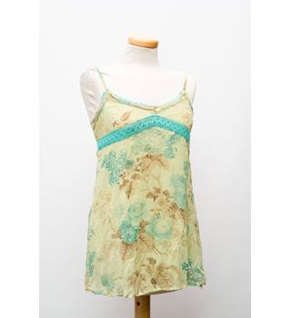 Joe Brown Women's Floral Dress - Size 10 - Green