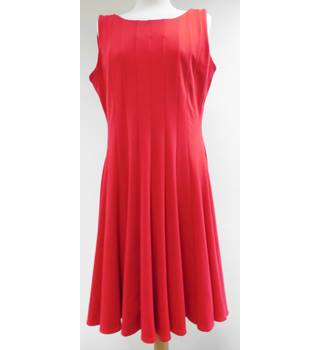 Calvin Klein - Size: 12 - Red - Sleeveless dress