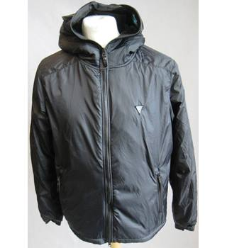 Crafted black fleece lined hooded jacket size M BNWT crafted - Size: M - Black - Fleece jacket
