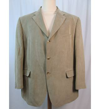 "M&S Marks & Spencer - Size: 46"" - Beige - Jacket"