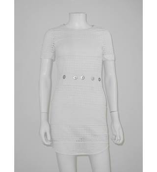 Michael by Michael Kors Size XXS White Mini Dress