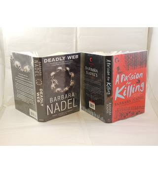Deadly Web and A Passion for Killing by Barbara Nadel publ Headline 1st editions signed