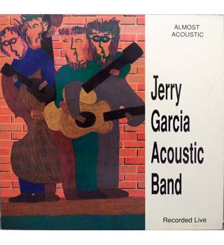 Almost Acoustic Jerry Garcia Acoustic Band - GDV 4005