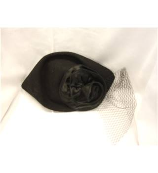 Unbranded Black Pillbox Hat
