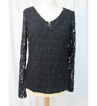 Artiango - Size: 12 - Black - Long-sleeved top
