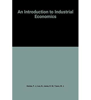 An Introduction to industrial economics