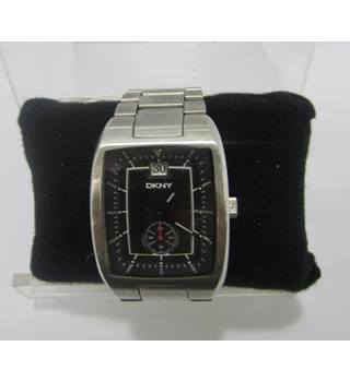 Mans DKNY wrist watch. Black