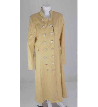 Pardesü Dünyasi Size 16 Long Daffodil Yellow Coat Pardesü Dünyasi - Yellow - Raincoat