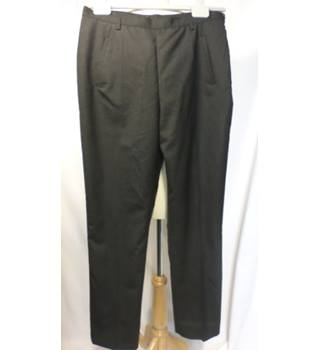 Anges B, Paris Size 16 Dark Grey Trousers