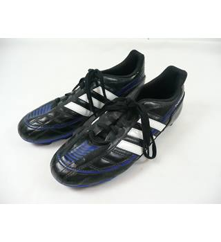 Adidas - Size: 5.5 - Black Blue and White - Football Boots