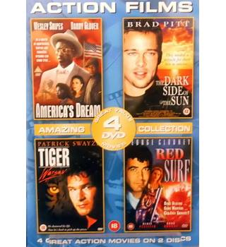 Action Films Collection : America's Dream / The Dark Side Of The Sun / Tiger Warsaw / Red Surf - 18