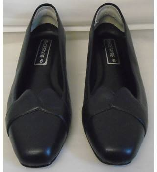 REDUCED Shoefayre Shoes - Size 6 - Navy Blue