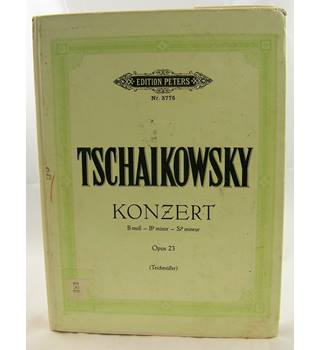 Tschaikowsky - Piano Concerto No. 1 in Bb minor. Two Pianos.